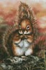 Squirrel - Cross Stitch Chart