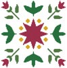 Starflower Design - Cross Stitch Chart