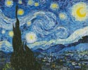 The Starry Night Blue - Cross Stitch Chart