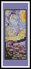 Starry Night Bookmark - Cross Stitch Chart