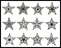 Stars - Cross Stitch Chart