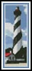 St Augustine Lighthouse Bookmark - Cross Stitch Chart