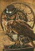 Steampunk Owl - Cross Stitch Chart