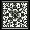 Stencil Design 1 - Cross Stitch Chart