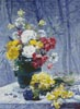 Still life of Flowers - Cross Stitch Chart