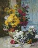 Still Life of Summer Flowers - Cross Stitch Chart