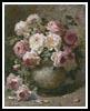Still life with Roses 2 - Cross Stitch Chart