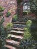 Stone Steps Italy - Cross Stitch Chart