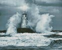 Storm and Lighthouse - Cross Stitch Chart