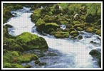 Stream in a Forest - Cross Stitch Chart