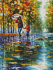 Stroll in Autumn Park (Crop) - Cross Stitch Chart