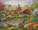 Summer Cottage - Cross Stitch Chart