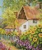 Summer Garden (Crop) - Cross Stitch Chart