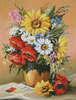 Summer Garden Display - Cross Stitch Chart