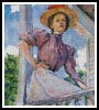 A Summer Girl - Cross Stitch Chart