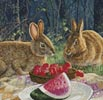 Sunny Bunnies (Crop 1) - Cross Stitch Chart