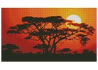 Sunrise in Kenya - Cross Stitch Chart