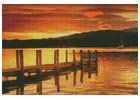 Sunset Dock - Cross Stitch Chart