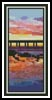 Sunset at Ocean Beach Bookmark - Cross Stitch Chart