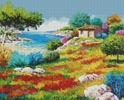 Sunset on the Beach - Cross Stitch Chart