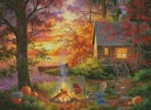 Sunset Serenity (Large) - Cross Stitch Chart