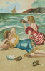Victorian Bathers - Cross Stitch Chart