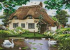 Swan Cottage - Cross Stitch Chart