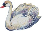 Swan Drawing - Cross Stitch Chart