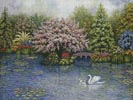 Swan Lake - Cross Stitch Chart