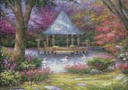 Swan Pond - Cross Stitch Chart