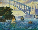 Sydney Harbour, Goat Island - Cross Stitch Chart