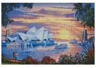 Sydney Opera House - Cross Stitch Chart
