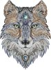 Tattoo Wolf - Cross Stitch Chart