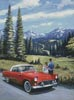 T-Bird in the Mountains - Cross Stitch Chart