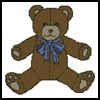 Teddy - Cross Stitch Chart