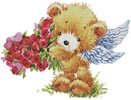 Teddy Angel - Cross Stitch Chart