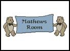Teddy Banner - Cross Stitch Chart