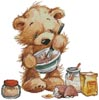 Teddy Chef 2 - Cross Stitch Chart