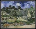 Thatched Cottage at Cordeville (Large) - Cross Stitch Chart