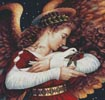 The Angel and the Dove (Crop) - Cross Stitch Chart