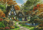 The Autumn Cottage - Cross Stitch Chart