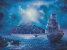 The Call of the Moon - Cross Stitch Chart