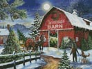 The Christmas Barn - Cross Stitch Chart