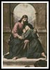 The Consoling Christ - Cross Stitch Chart