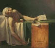 The Death of Marat - Cross Stitch Chart
