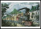 The Express Train - Cross Stitch Chart