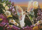 The Fairy Kiss - Cross Stitch Chart