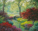 The Garden Bridge - Cross Stitch Chart