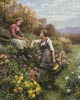 The Gossips (Large) - Cross Stitch Chart