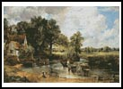 The Hay Wain - Cross Stitch Chart